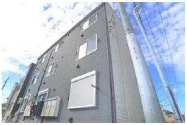 【外観】千葉市中央区長洲2丁目の一棟売りアパート