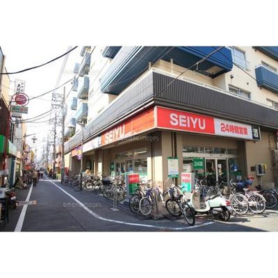 ショッピングセンター「西友高円寺まで122m」西友高円寺