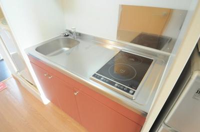 調理スペースが確保されているのでスムーズな調理が可能!