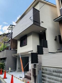 【外観】上京区白竹町 新築戸建て