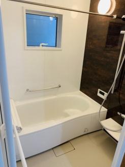 【浴室】上京区白竹町 新築戸建て