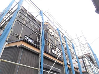 【外観】新築 横浜線 相原駅 相模原市緑区相原町 建物 35坪