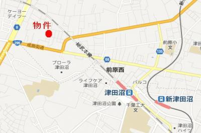 【地図】プローデンス前原