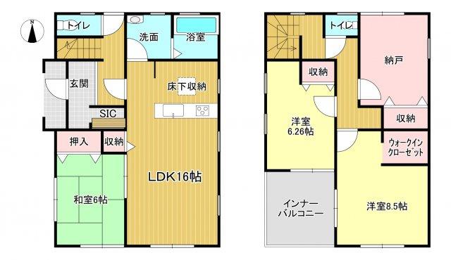 大和高田市有井3期 新築(全2棟)1号棟
