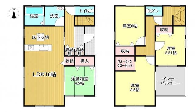 大和高田市有井3期 新築(全2棟)2号棟