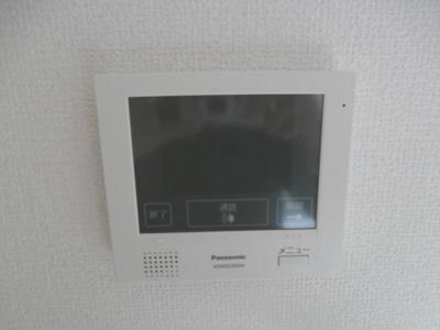 TVモニター付インターフォン