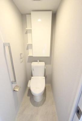 シティタワー金町のトイレです。