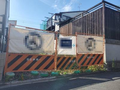 【外観】中京区聚楽廻西町 建築条件無し 売土地