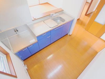 【キッチン】SHAROKU HOMUS 弐番館