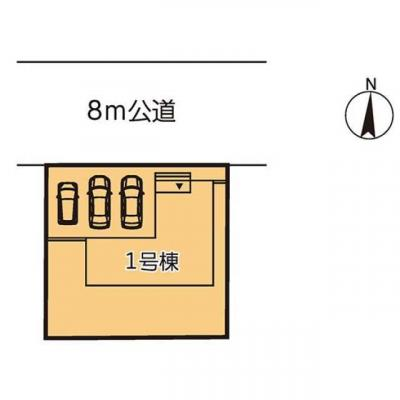 【区画図】リーブルガーデン第3小山駅南町 新築一戸建て