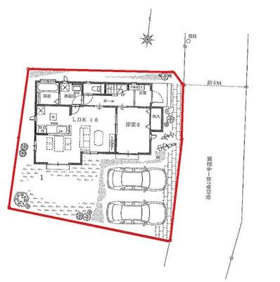 【区画図】ハートフルタウン宇都宮市滝の原2期 新築一戸建て
