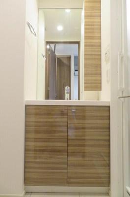 ハンドシャワー付き独立洗面台
