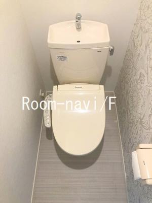 【トイレ】ハーモニーテラス町屋Ⅲ