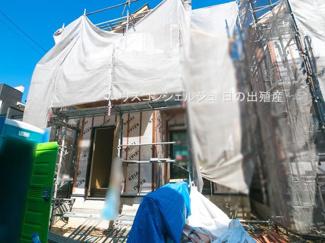 【外観】名古屋市中村区角割町3丁目15-1【仲介手数料無料】新築一戸建て