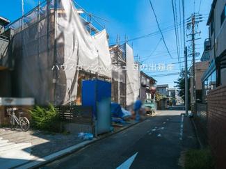 【前面道路含む現地写真】名古屋市中村区角割町3丁目15-1【仲介手数料無料】新築一戸建て