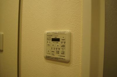 雨の日のお洗濯に便利な「浴室換気乾燥機」です。
