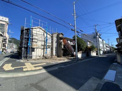 【前面道路含む現地写真】中央区神若通5丁目 土地