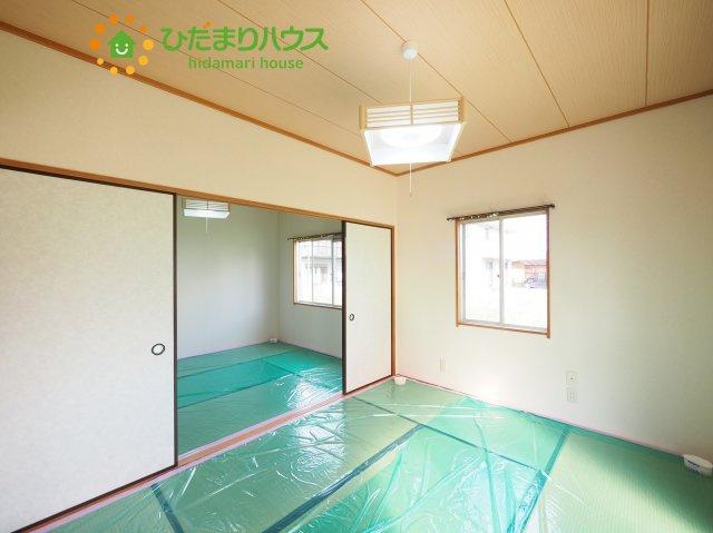 リビングと和室が続き間設計ですので、大空間を演出できます(^O^)