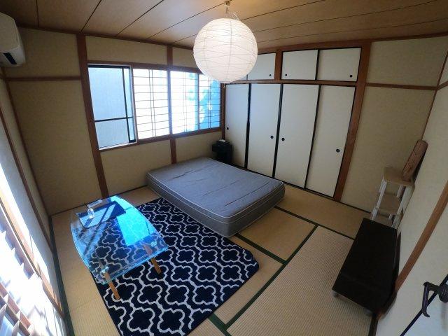 2階和室8帖