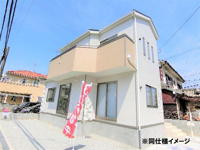 【外観:施工例】香芝市今泉第3 新築(全4棟)3号棟