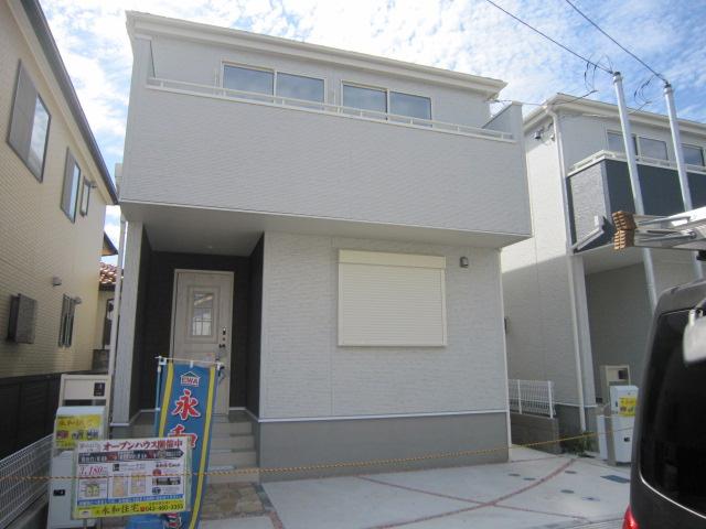 新築一戸建て 全2棟 勝田台北3丁目 5LDKの大型間取りの家,駅まで徒歩8分の立地!仲介手数料無料です。
