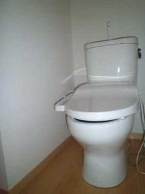 【トイレ】ミニョン若林 駅近 築浅 バストイレ別 浴室乾燥機