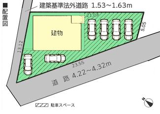 【区画図】伊豆の国市寺家第5 新築戸建 全1棟 (1号棟)