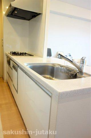 対面キッチン 食洗器付き 浄水器付き