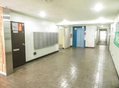 東海ミタカマンションのエレベーターです。