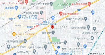 【地図】南松原平屋