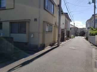 【前面道路含む現地写真】鳥取市青葉町一丁目中古戸建