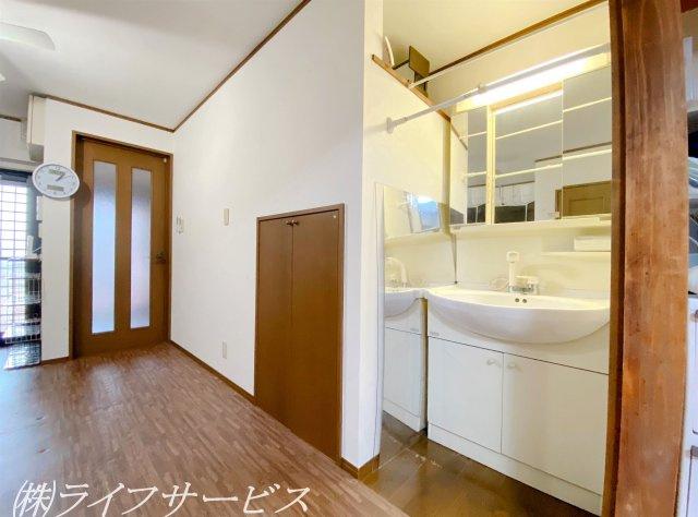 1階/洗面化粧台/三面鏡タイプのシャワー付洗面化粧台