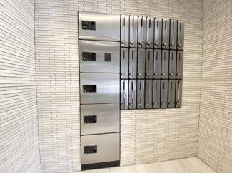 オルゴグラートNAMBA(テナント) 宅配ボックス・メールボックス