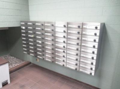 セブンスターマンション門前仲町のメールボックスです。