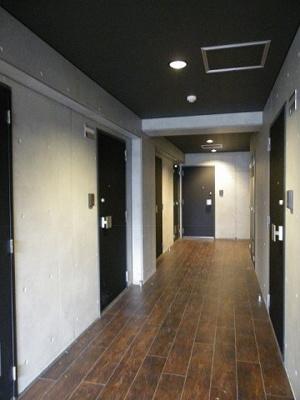 内廊下です。