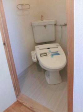 【トイレ】おむらハイツ