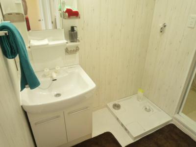 【独立洗面台】ホワイトプラザ