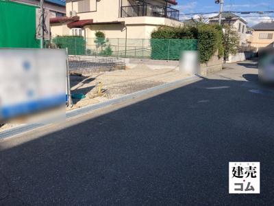 宝塚市末成町5期 新築一戸建て 2021/10/10現地画像