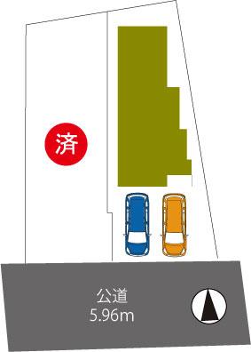 宝塚市末成町5期 新築一戸建て