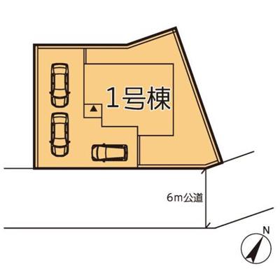 【区画図】リーブルガーデン第2小山立木 新築一戸建て