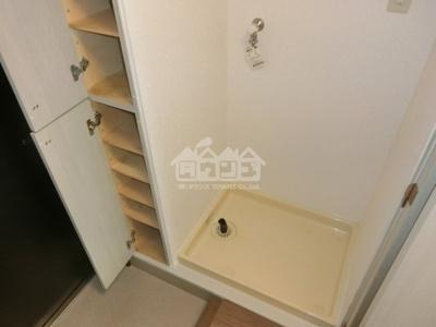 室内洗濯機置場・収納・パークアヴェニュー新宿西