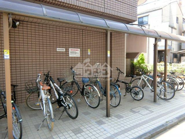 駐輪スペース・パークアヴェニュー新宿西
