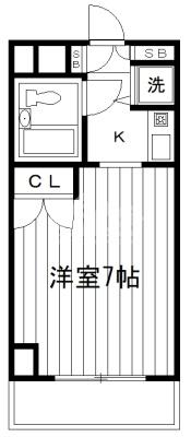 間取図・パークアヴェニュー新宿西