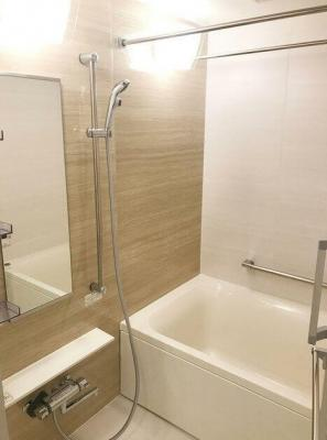 【浴室】パークアクシス築地