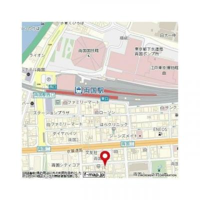 【地図】エスコート両国