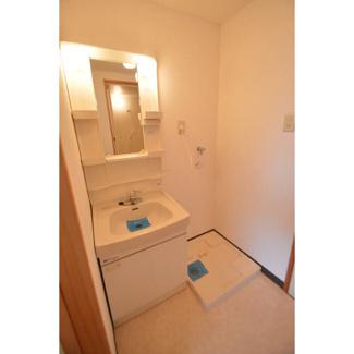 独立洗面台・室内洗濯機置き場