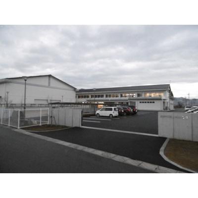 中学校「長野市立篠ノ井東中学校まで1932m」