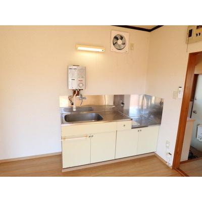 【キッチン】フクジマアパート