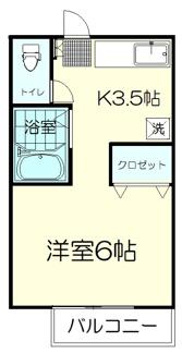 一人暮らしにはちょうど良い大きさ キッチンはゆとりがあります
