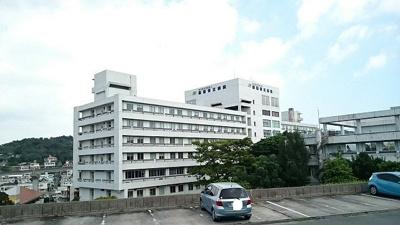 那覇市立病院まで1100m